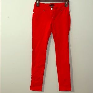 Timing Red pants- size small